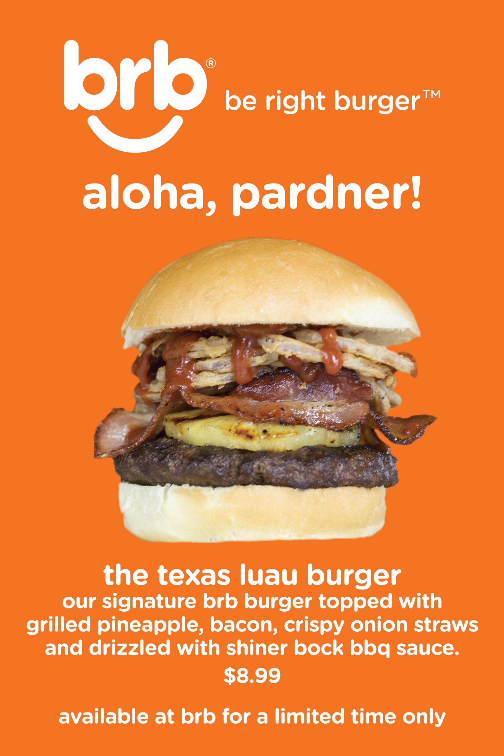 Texas Aloha Burger